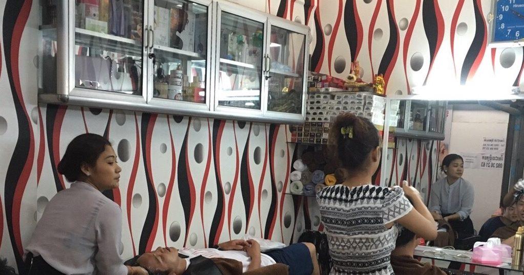 時間が余ったらこんな感じの美容院で髪を洗ってもらおう