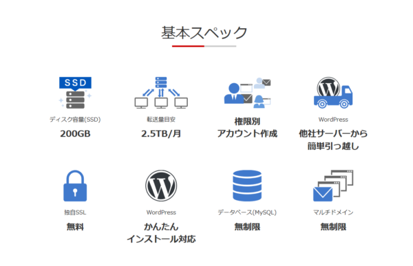 お名前ドットコムRSプランのサーバーはRSプランの完全上位互換(多分)